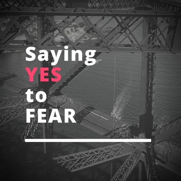 On changing your mindset on fear and how to invite it into your life as a guide.