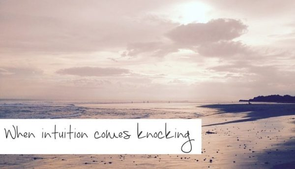 When intuition comes knocking