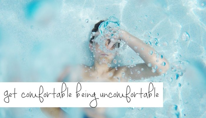 Change: How to get comfortable being uncomfortable