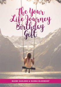 Your Life Journey Birthday Gift - Naomi Saelens Coaching